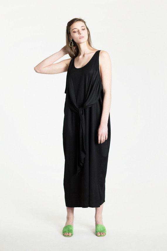 Shaina Mote SALE 50% OFF- Ink Long Tie Dress | BONA DRAG