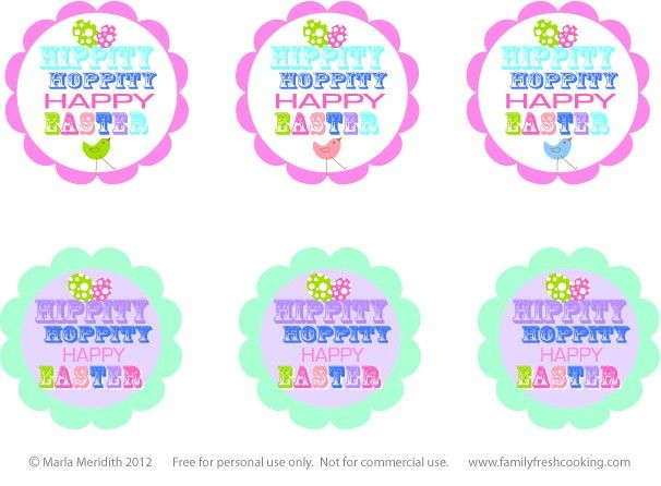 *Freebie* Easter Printables | MarlaMeridith.com   – buttons