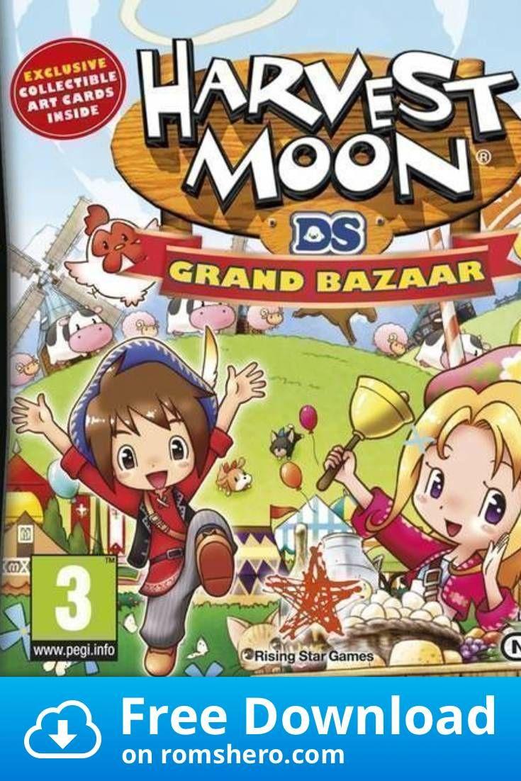 Download Harvest Moon Grand Bazaar Nintendo Ds Nds Rom In