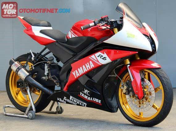 Yamaha v-ixion 150cc modif