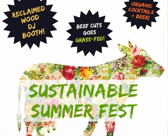 You're Invited: Sustainable Summer Fest Heats Up Underground Dance Venue Beef Cuts This Weekend