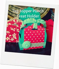 Trinity Designs: Tag Topper Treat Holder