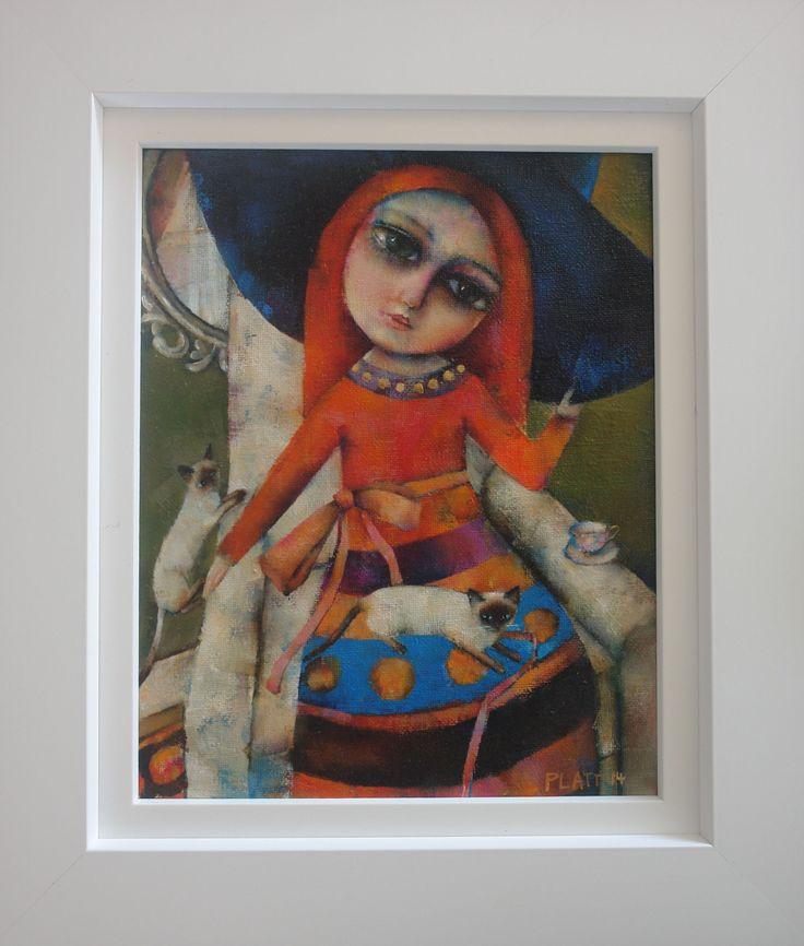 Siamese Twins by Suzy Platt at Art Box Gallery