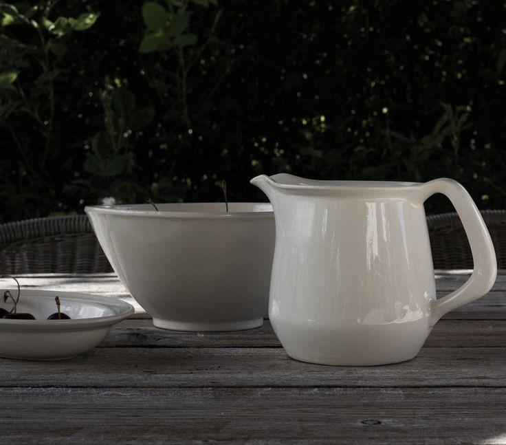 Vintage cream ware from Figgjo, Norway