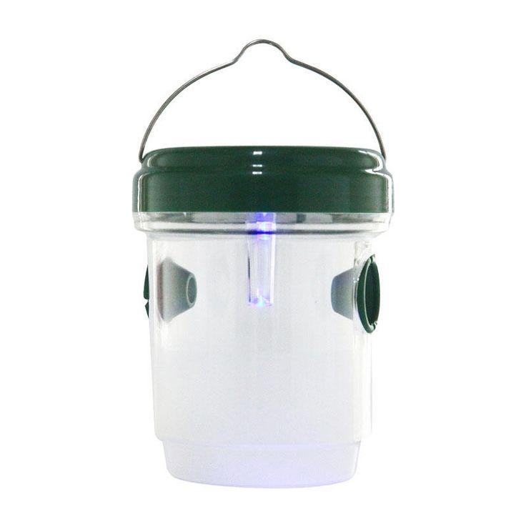 Igreen AGWT-01 Garden Solar Power LED Wasp Trap Catcher Physics Environmental Protection Farm Yard Trapper