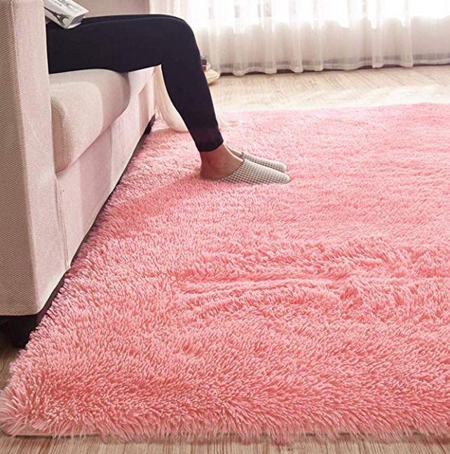 Multiware Fluffy Area Rugs Anti Skid Yoga Carpet For Living Room Rugs Bedroom Living Room Carpet Rugs In Living Room Bedroom Rug