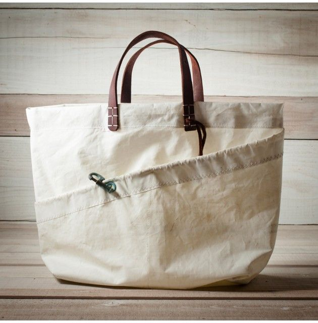 Surf Tote, Ltd Edition Reclaimed Sail Bag - Bags - Accessories