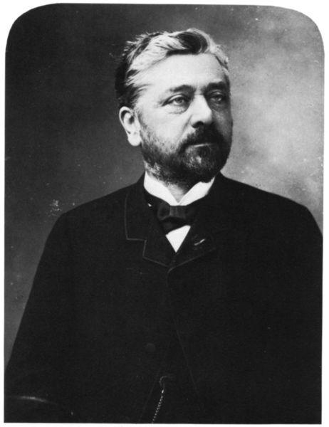 Gustave Eiffel , french engineer (Eiffel Tower)