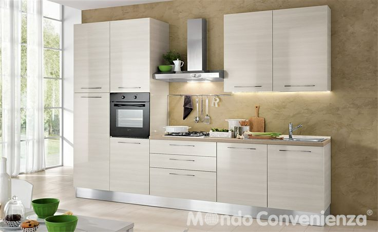 Trend Katy Cucine Composizioni bloccate Mondo Convenienza i buy this diary us Pinterest Galley kitchens Kitchens and Interiors