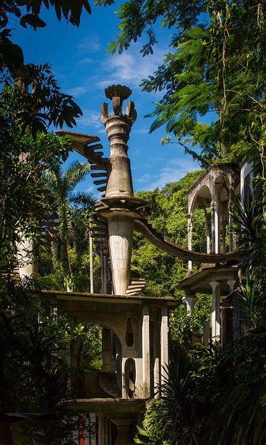 jardín surrealista en Xilitla (Las Pozas)