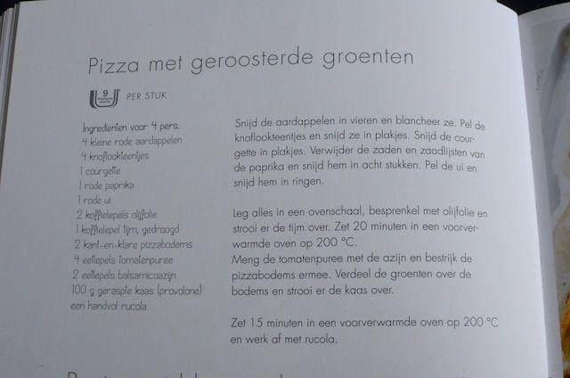 Mijn favoriete recepten van Weight Watchers | Pizza met geroosterde groenten