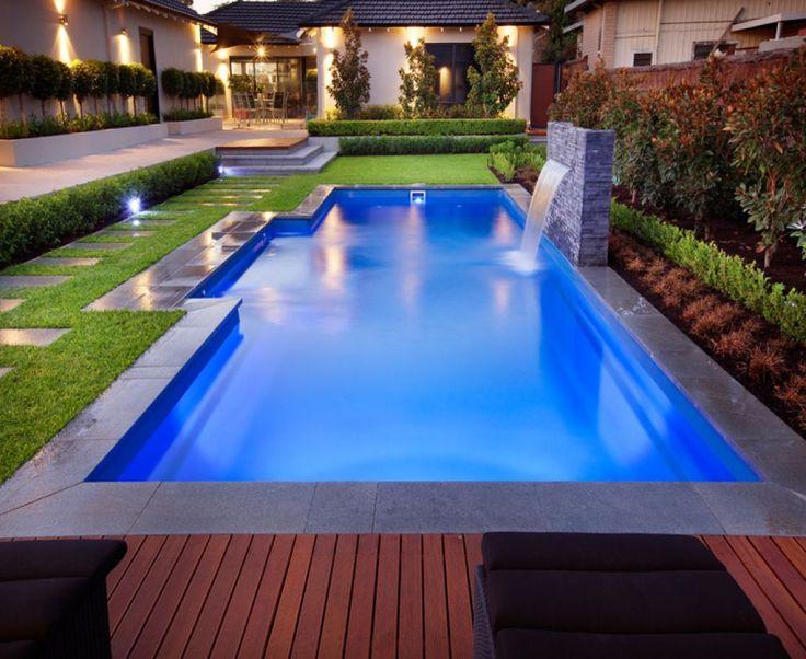 Best 25 fiberglass swimming pools ideas on pinterest - Swimming pool water features perth ...