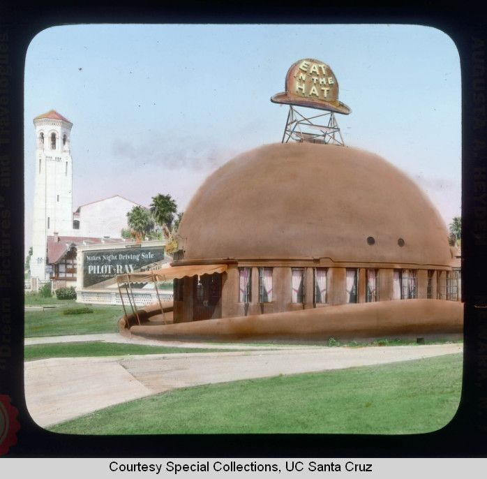 Los Angeles, California. Brown Derby Restaurant
