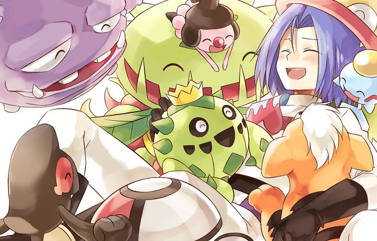 Tags: Fanart, Pokémon, Pixiv, Growlithe, Chimecho, Cacnea, Carnivine, Victreebel, Kojirou (Pokémon), Weezing, Mime Jr., Team Rocket, Usao (313131), Fanart From Pixiv, Yamask, Amoonguss