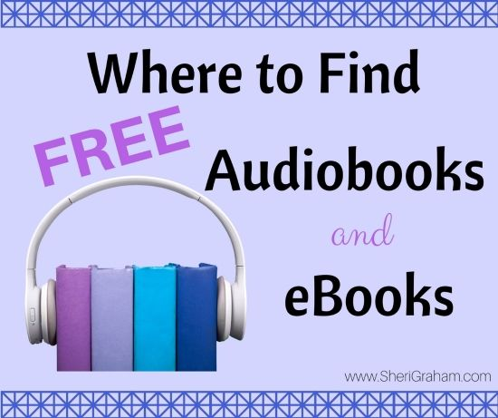 It is really unbelievable the wealth of resources available to us on the internet!  I wanted to start a list of websites where you can download free ebooks and audiobooks that can be used in your home.  I will probably be adding to this list as I come across more.  If you know of any …