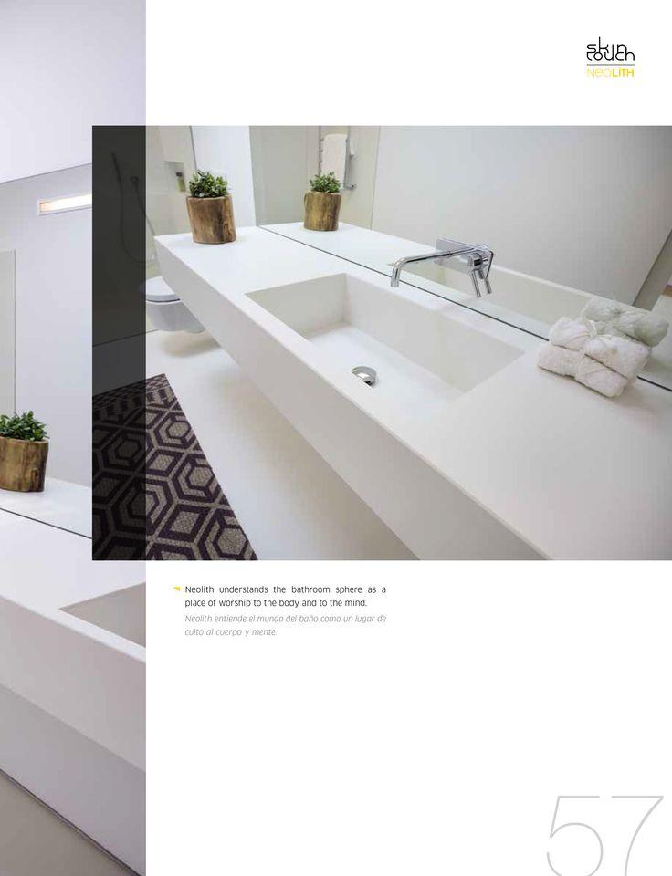 19 best Neolith Bathrooms images on Pinterest   Bathroom sinks, Sink ...