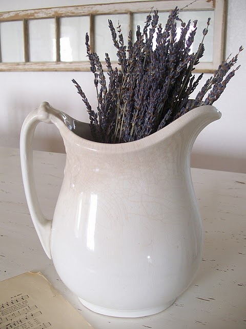 Find This Pin And More On Bathroom Decor By Nausheenkas. Ironstone And  Lavender