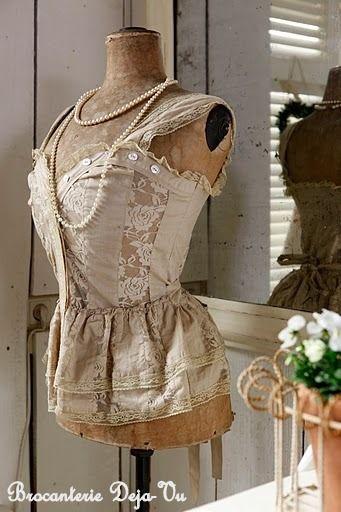237 best buste mannequin vintage images on pinterest. Black Bedroom Furniture Sets. Home Design Ideas