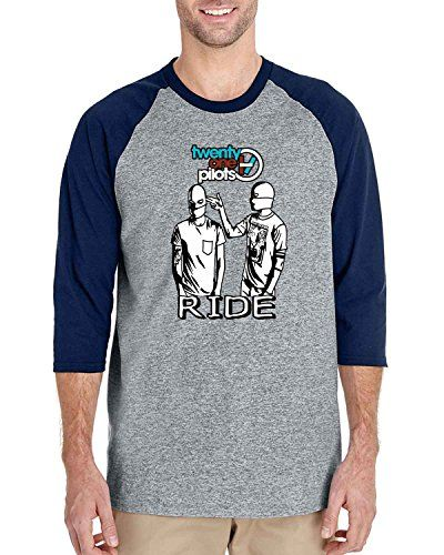 Twenty One Pilots Ride cover 3/4 Sleeve Baseball Tshirt R... https://www.amazon.com/dp/B01HREF9FW/ref=cm_sw_r_pi_dp_9mzJxbS78CBSK