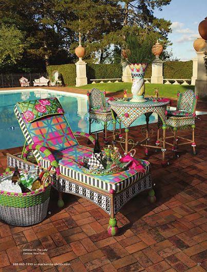 Beautiful McKenzie And Childs Furniture