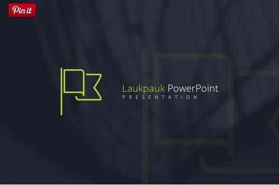 Laukpauk Cool PowerPoint template