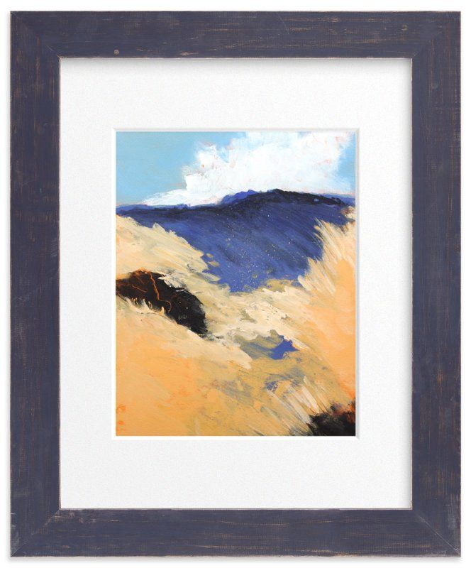 """""""Mountain Pastures"""" - Art Print by Megan Kelley in beautiful frame options and a variety of sizes."""