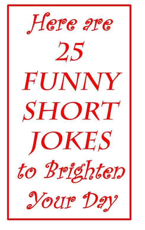 latest funny short jokes