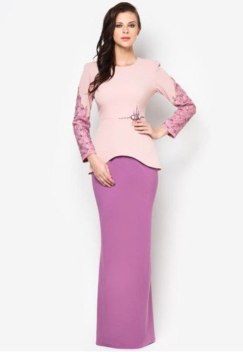 Chantilly Carolina Baju Kurung