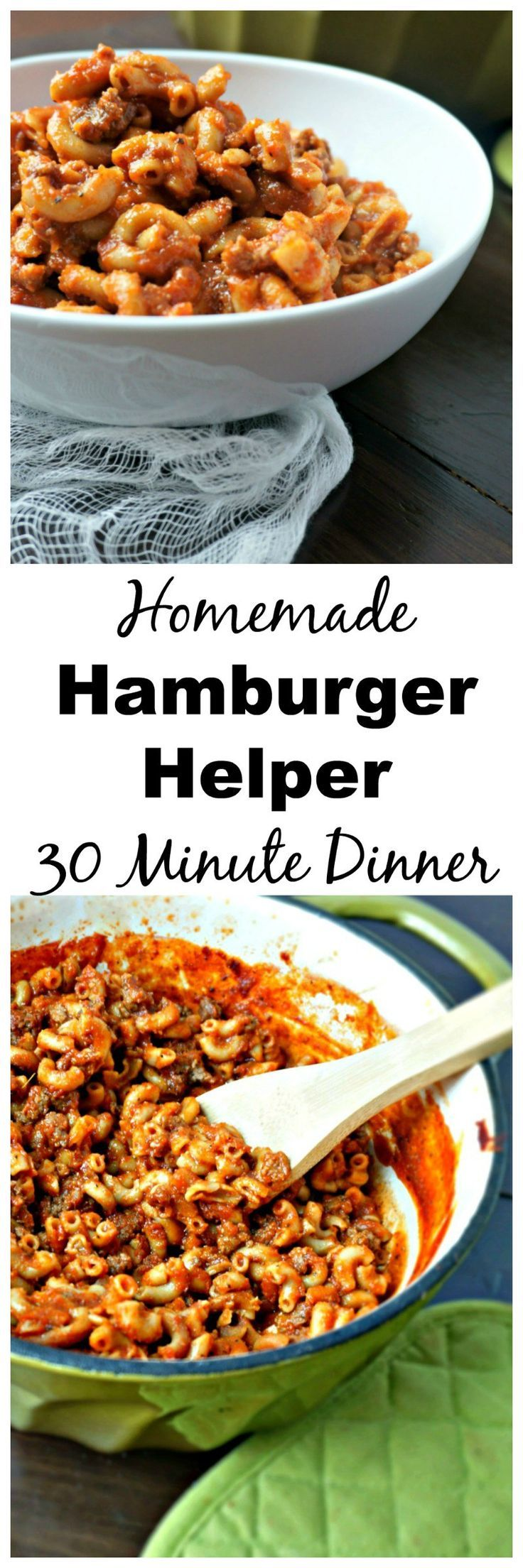 Clean Eating Hamburger Helper Skillet: A boxed classic has been given a healthy…