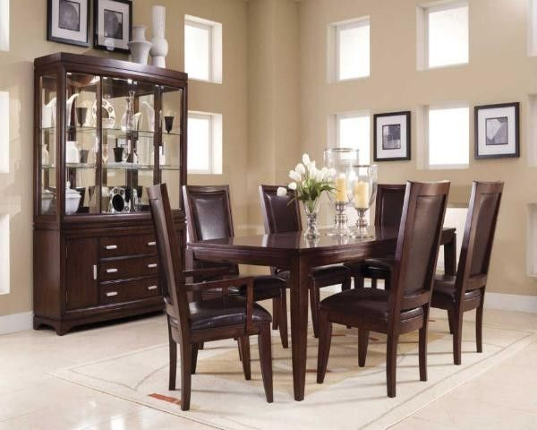 Dining Room Espresso Wooden Round Dining Room Designs Set Under 500 For 8  Person Fetching Best Dining Room Design Ideas 2014 Models