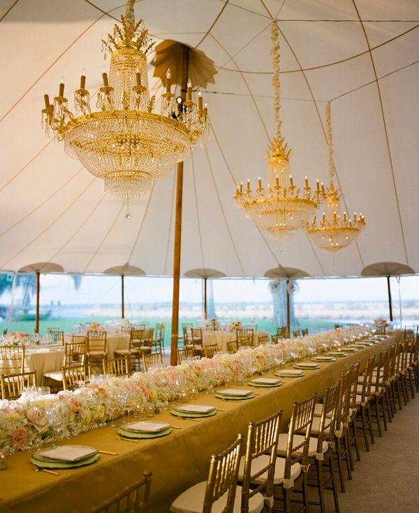 Elegant wedding reception idea #weddingdecor