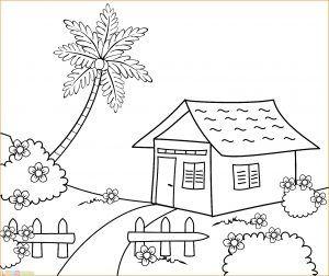 Gambar Ilustrasi Lingkungan Rumah Google Search House Drawing For Kids Art Drawings For Kids Drawing For Kids