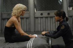 Grace Park and Tricia Helfer in Battlestar Galactica (2004)