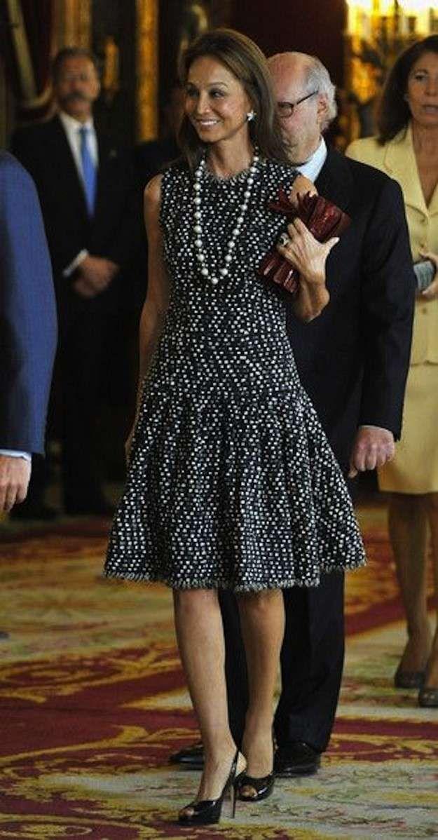El estilo único de Isabel Preysler: fotos de los looks - Isabel Preysler vestido lady