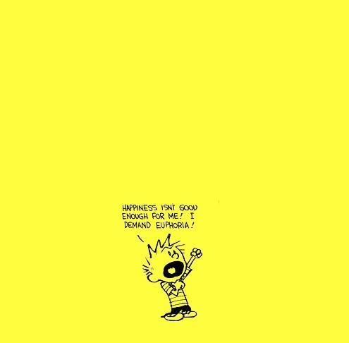 Oh Calvin...