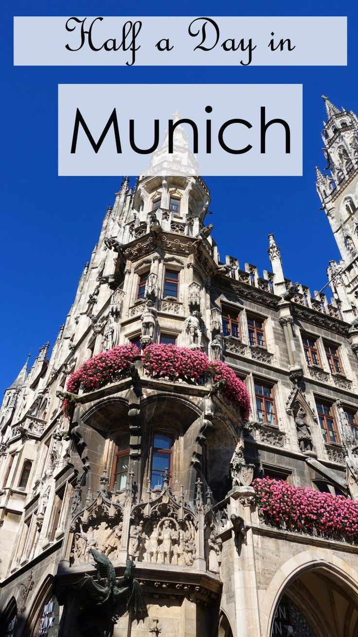 Half a day in Munich: What to see in a short time