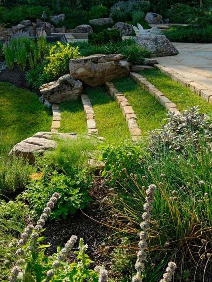 Les 25 meilleures id es de la cat gorie marches jardin sur pinterest jardin de ville fontaine - Idee amenagement bassin de jardin la rochelle ...