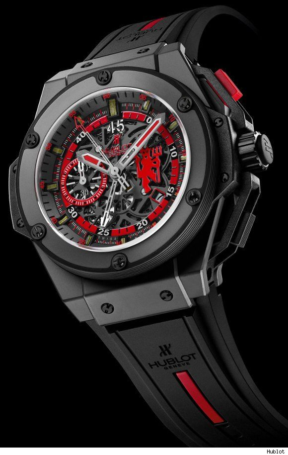 Hublot King Power Red Devil Watch For Manchester United - Who says u cant buy time
