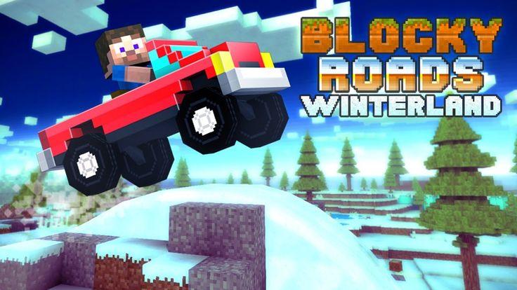 Blocky Roads Winterland - Universal - HD Gameplay Trailer