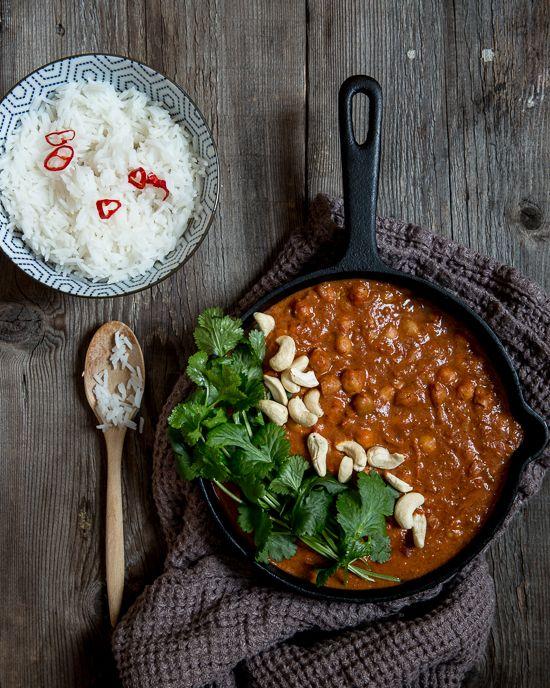 Kokit ja Potit -ruokablogi: Tikka masala kikherneistä – nopea arkiruoka puolessa tunnissa #kikherneet