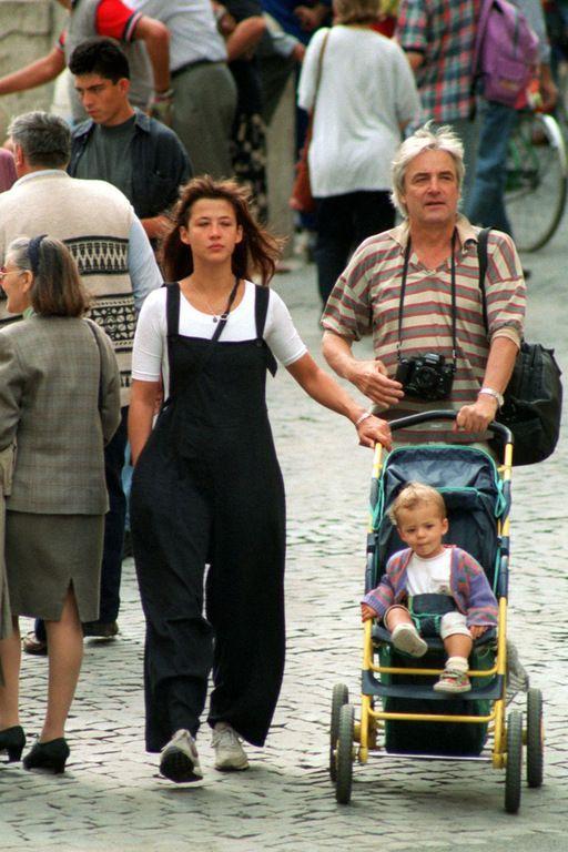 Andrzej Żuławski et Sophie Marceau en 1996