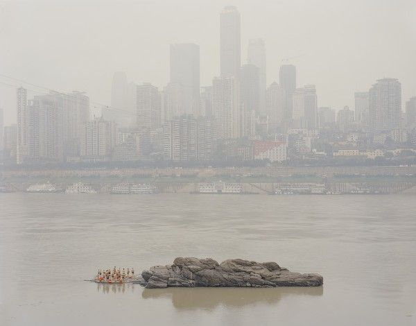 Zhang Kechun re-examining the present of mountains and waters