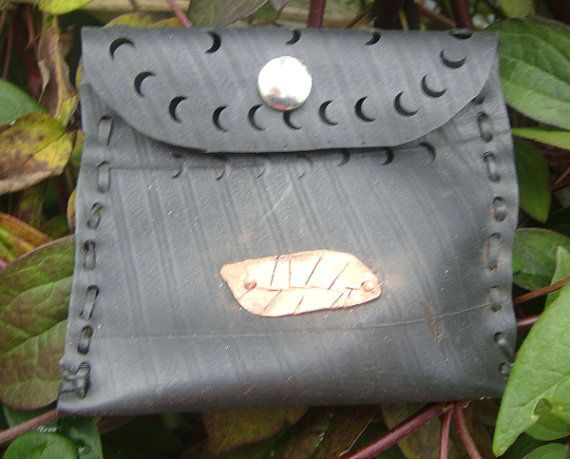 small upcycled clutch purse