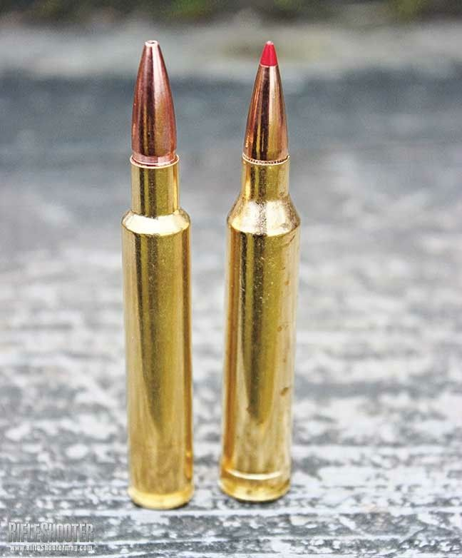 280 Ackley improved and his retarded cousin the 7mm rem mag