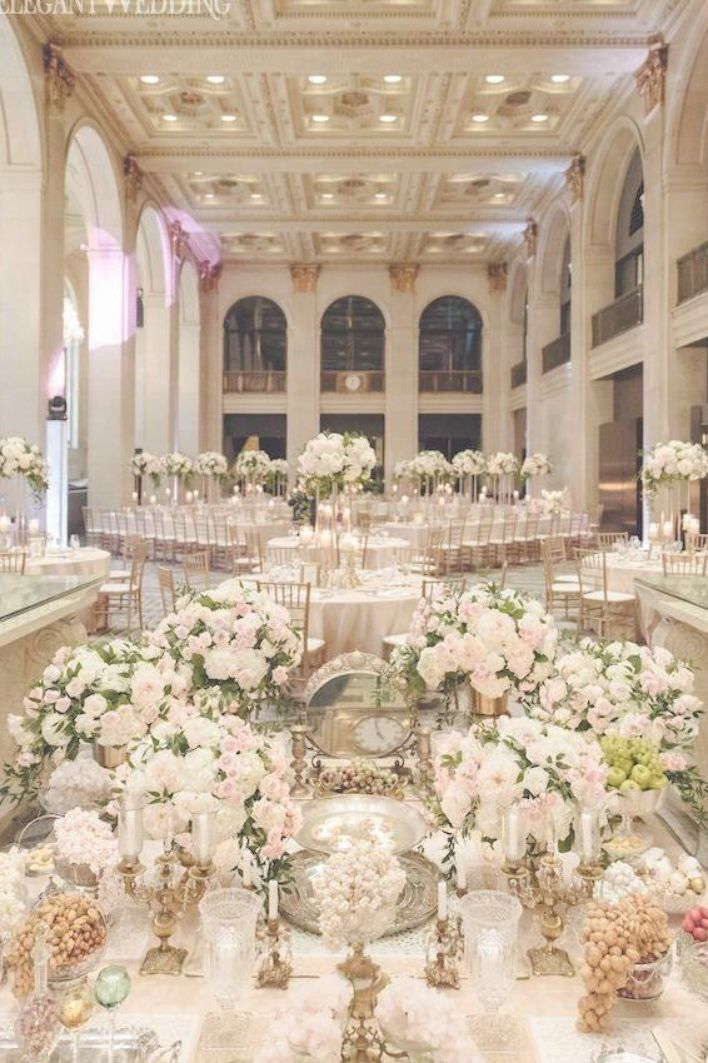 Blush And Gold Wedding Reception Sofreh Aghd Ideas A Classic