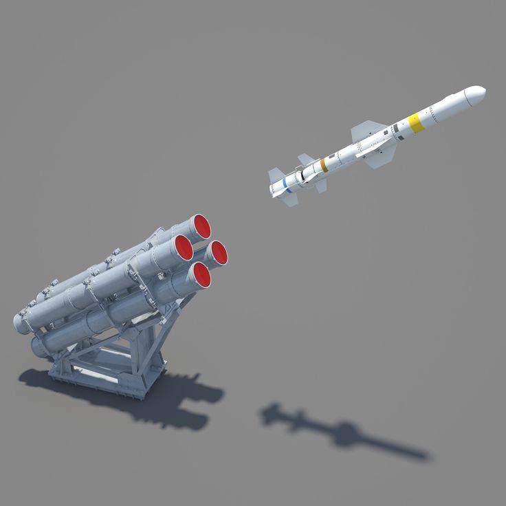 http://www.turbosquid.com/3d-models/3d-rgm-84-harpoon-mk-141-guided-missile-model/956269 [Mk-141 Guided Missile Launching System + RGM-84 Harpoon Missile]
