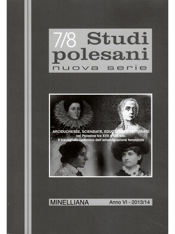 STUDI POLESANI NUOVA SERIE 7/8