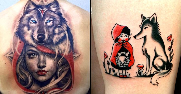 Best 25 red tattoos ideas on pinterest black red tattoo for Red wolf tattoo