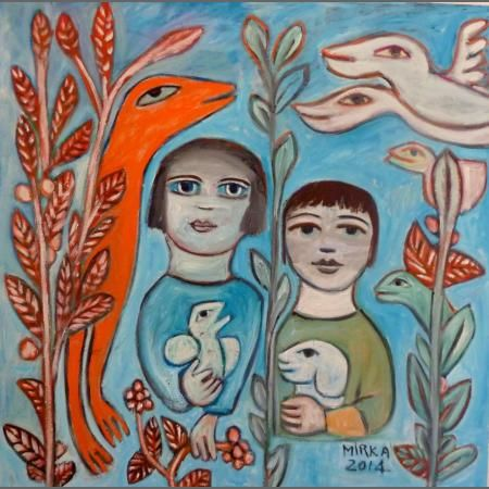 Mirka Mora is one of Melbourne's best known and loved artists.
