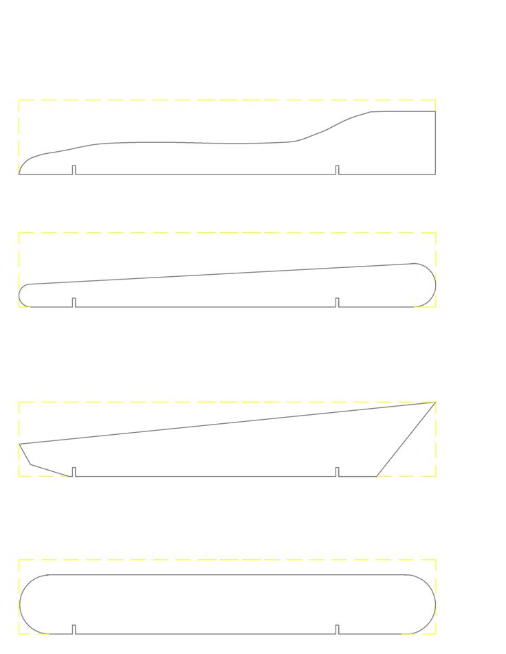 The 25 best pinewood derby car templates ideas on for Pine wood derby template